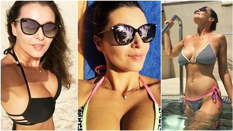 Iva Kubelková se má čím chlubit. Takovými fotkami zásobuje svoje fanoušky z...