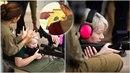 Ivana Zemanová v Izraeli řádila na cvičišti odstřelovačů izraelské vojenské...