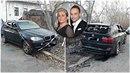 Marku Dědíkovi někdo podpálil vůz, který s manželkou pořídili kvůli ročnímu...