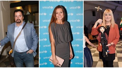 Aukce panenek pro UNICEF přilákala celou řadu osobností s chutí pomáhat dobré...