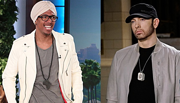 Nick Cannon a Eminem