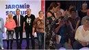 Jaromír Soukup ve svém pořadu přivítal partičku věštců v čele s Jolandou....