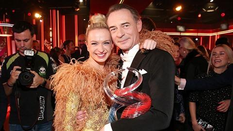 Vítězný taneční pár Jiří Dvořák a Lenka Nora Návorková