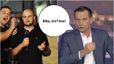 Jaromír Soukup si zanadával na moderátora České televize.