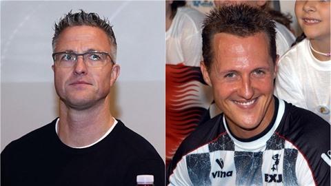 Bratr Michaela Schumachera Ralf v Praze. Jaký dal zákaz?