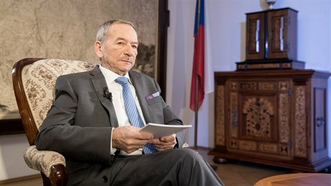 Jaroslav Kubera měl novoroční projev.