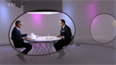 Václav Moravec a Andrej Babiš v televizní debatě OVM.