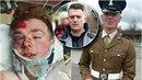 O napadení vojáka informoval kontroverzní aktivista Tommy Robinson (v kolečku).