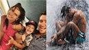 Marka Ztraceného s rodinou uvěznila bouře na thajském ostrově Samui.