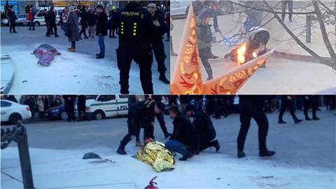 Muž se chtěl upálit během týdne Jana Palacha.