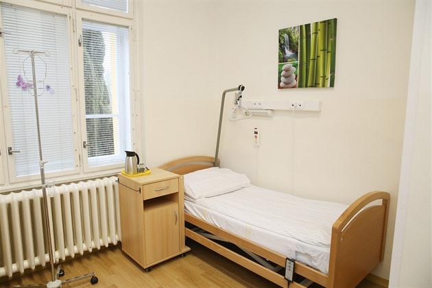 Takto vypadají pokoje onkologicky nemocných pacientů.