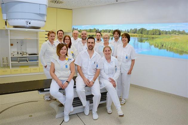 Lékařský tým onkologického oddělení Nemocnice Na Pleši