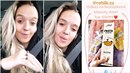 Tamara vydělává na Instagramu.