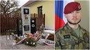 Armáda České republiky odhalila památník, který ode dneška připomíná padlého...
