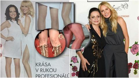 Lucie Bílá a Simona Krainová přišly v nové reklamě nejen o vrásky a přirozené...