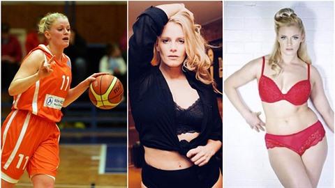 Z nadějné basketbalistky se stala modelka.
