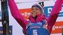 Markéta Davidová vyhrála svůj první závod ve světovém poháru.