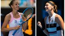 České tenistky Karolína Plíšková i Petra Kvitová na Australian Open září. Stále...