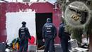 Policisté prohledávali přibližně třicet objektů v Berlíně i Braniborsku.