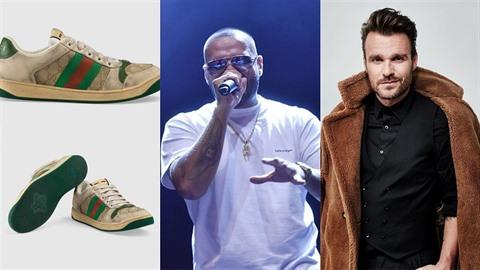 Kdo z českých celebrit obuje ošuntělé tenisky od Gucciho?