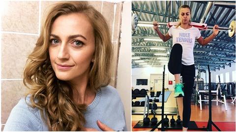 Petře Kvitové se po nedávném soudu zjevně ulevilo. Cvičí a její nové jí...