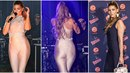 Tereza Kerndlová a její kamínky posetá variace na kostým Beyoncé nebo Jennifer...