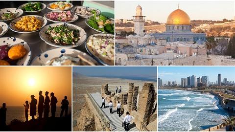 Izrael je sice země malá rozlohou, míst, která stojí za to vidět, je ale celá...