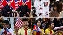 Setkáním Donalda Trumpa s Kim Čong-unem žije celý Vietnam. V ulicích se...