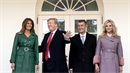 Americký prezident Donald Trump s manželkou Melanií přijal v Bílém domě českého...