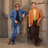 Brad Pitt a Leonardo DiCaprio ve filmu Once Upon a Time in Hollywood.