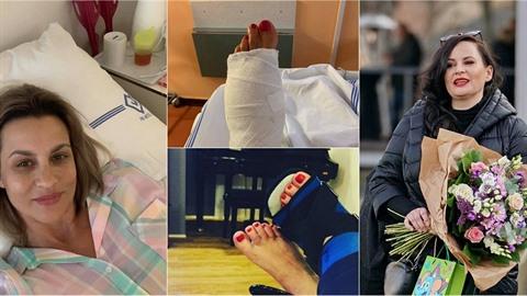 Monika Marešová má v noze tři nové šrouby, zlehka se nechodí ani Jitce...