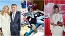 Šaty z kolekce Victorie Beckham Monice Babišové slušely. A na rozdíl do Terezy...