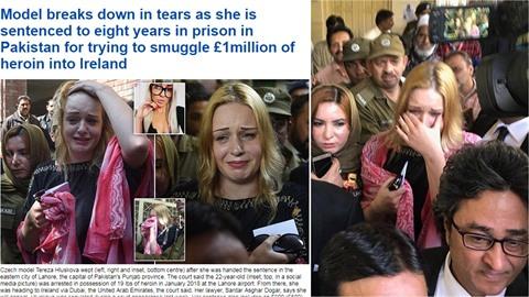 Uslzená Tereza se dostala i do zahraničního tisku!
