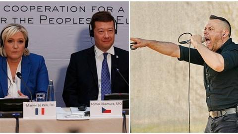 Tomio Okamura pozval do Prahy Marine Le Penovou či Gerta Wildeerse. Přijedou...