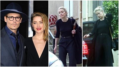 Amber Heard není taková kočka, na jakou jsme zvyklí. Působí dost zdrchaně a...