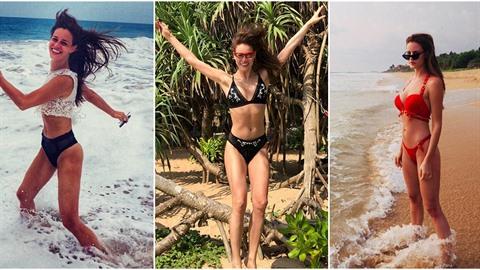 Modelka Zuzana Jandová po zimě odletěla načerpat síly na Srí Lanku.
