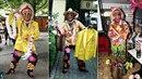 Daniel Nekonečný měl neuvěřitelné množství hodně bláznivých kostýmů.
