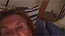 Nahá Eva Holubová měla livestream z ložnice. Pouze pro odvážné