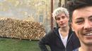 Matěj Stropnický si s přítelem nechali důkladně protáhnout zámecký komín