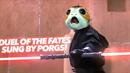 Slavná bitva ze Star Wars, kde hraje hudba jen ze zvuků Porgů