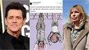 Populární herec Jim Carrey se dostal do křížku s vnučkou fašistického diktátora...