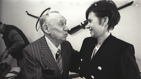 Jára Kohout s manželkou Marcelou.