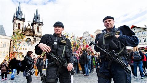 Velikonoce v Praze budou ostře střežené!