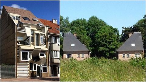 Podívejte se na výběr těch vůbec nejošklivějších belgických domů!