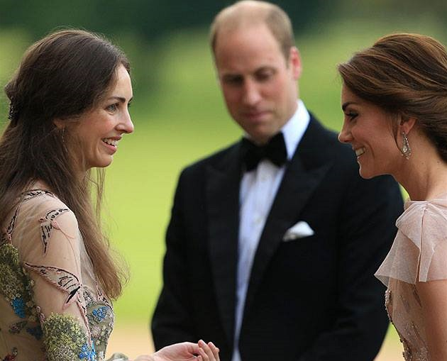 Kensingtonský palác fámy o sporu Kate Middleton a Rose Hanbury.