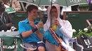 Tenista Novak Djokovic je největší borec a tohle je důkaz