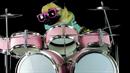 Tohle je mops hrající Enter Sandman od Metallicy na bubny