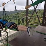 Tohle je adrenalin! Jeden z nejdelších Zipline dosahuje rychlosti až 153km/h
