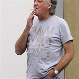 Exclusive: James May Is All Smiles Outside An Office Building In London