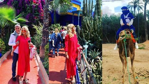 Babišovi na rodinné dovolené v Maroku